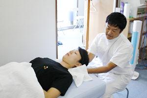 肩周辺の施術